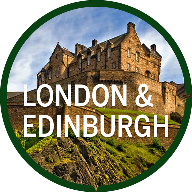 London and Edinburgh